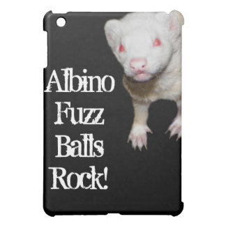 Albino Ferret Picture Case For The iPad Mini