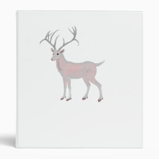 Albino Glass Deer Binder