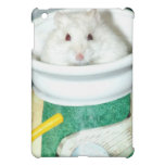 Albino Hamster Photo iPad Mini Cover