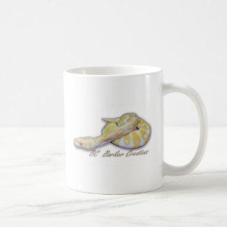 Albino Hatchling Ball Python Coffee Mug