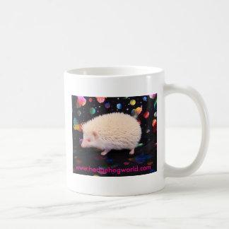 Albino hedgehog mug