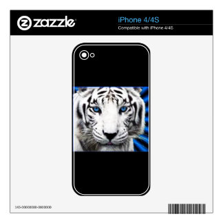 Albino Iphone 4 Template iPhone 4S Skins