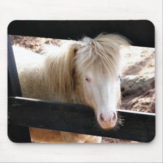 Albino looking pony mouse pad