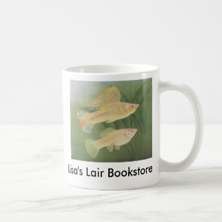 Albino Mollies - Poecilia latipinna B/store Promo Classic White Coffee Mug