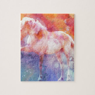 ALBINO ON COLOR 3 JIGSAW PUZZLE