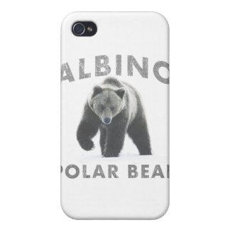 albino polar bear cover for iPhone 4