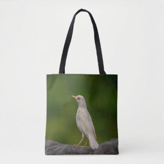 Albino Robin in Crown Point Tote Bag