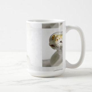ALBINO SNAKE CLASSIC WHITE COFFEE MUG