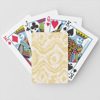 albino snake skin bicycle playing cards