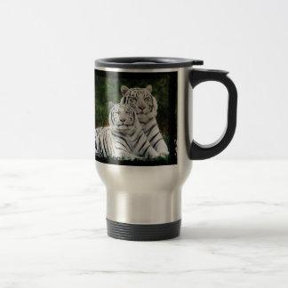 Albino Tiger Commuter Travel Mug
