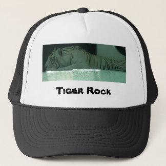 Albino Tiger Trucker Hat