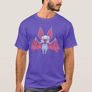 Halloween Themed Albino Vampire Bat T-Shirt