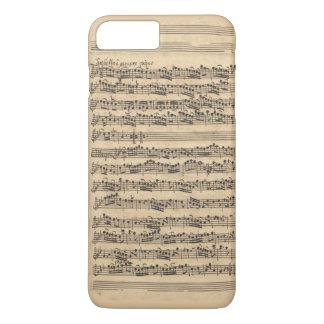 Albinoni Sinfonia Music Manuscript iPhone 8 Plus/7 Plus Case