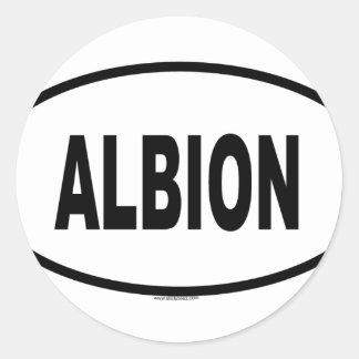 ALBION CLASSIC ROUND STICKER