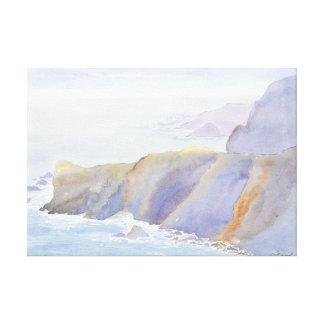 Albion Coast Canvas Print