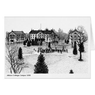 Albion College Campus 1898 Card