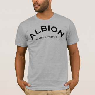 ALBION CORRECTIONAL-Many Styles/Colors w/This Logo T-Shirt