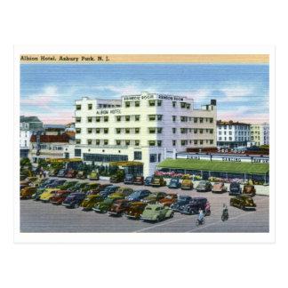 Albion Hotel, Asbury Park NJ Vintage Post Card