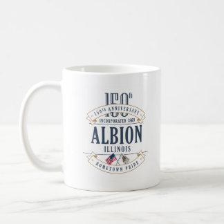 Albion, Illinois 150th Anniversary Mug