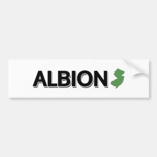 Albion, New Jersey Bumper Sticker