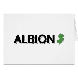 Albion, New Jersey Greeting Cards