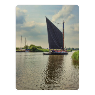 Albion on the River Thurne Card