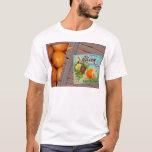 Albion Oranges Fruit Crate Label T-Shirt