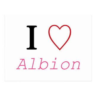 Albion Post Card
