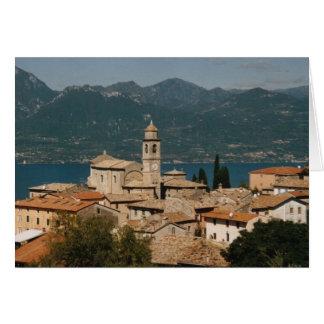 Albisano, notecard de Italia Tarjeta Pequeña