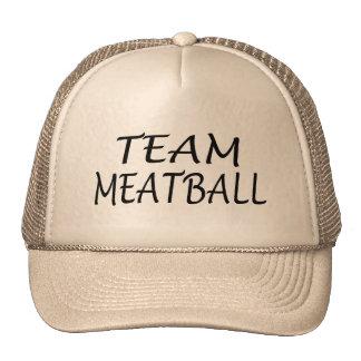 Albóndiga del equipo gorra