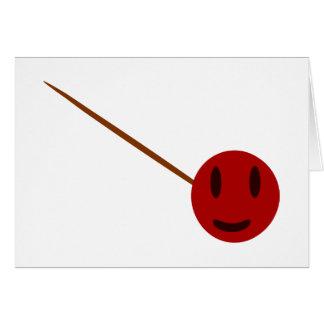 albóndiga tarjeta de felicitación