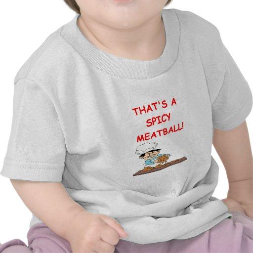 albóndigas camiseta
