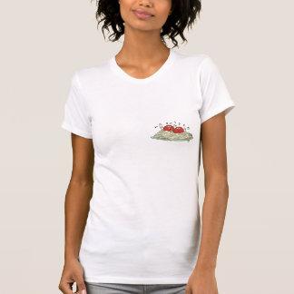 albóndigas del canto en los espaguetis t-shirts