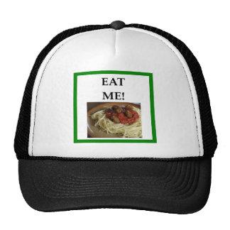 albóndigas gorra