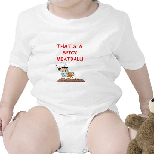 albóndigas trajes de bebé