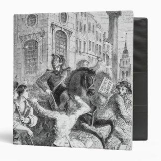 """Alboroto de Burdett, 1810 Carpeta 1 1/2"""""""