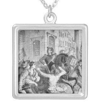 Alboroto de Burdett, 1810 Collar Plateado