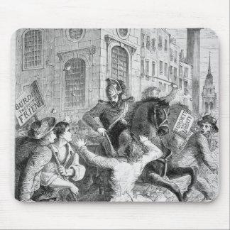 Alboroto de Burdett, 1810 Tapete De Ratones
