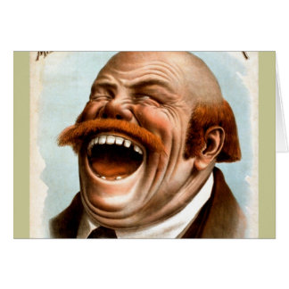 ¡Alboroto de la risa! Tarjeta De Felicitación