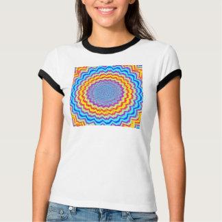 Alboroto del arco iris camisas