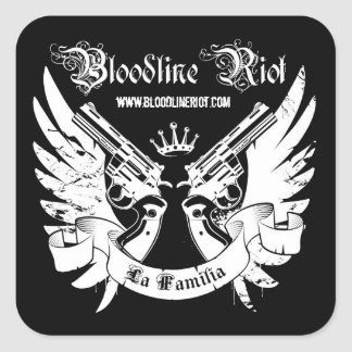 Alboroto del Bloodline - pegatina de Familia del
