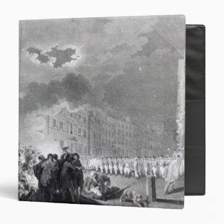 Alboroto en calle amplia, junio de 1780