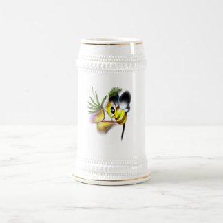 Alboroto y zumbido jarra de cerveza