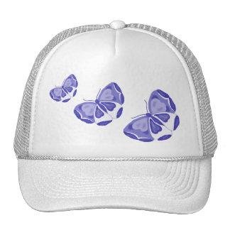 Alborotos de la mariposa gorras