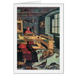 Albrecht cardinal por Lucas Cranach (i) Tarjetón