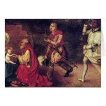Albrecht Durer - Adoration of the Magi Greeting Cards