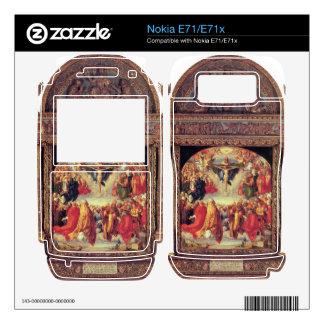 Albrecht Durer - Adoration of the Trinity Nokia E71 Decals
