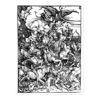 Albrecht Dürer Apokalypse Tarjetas Postales
