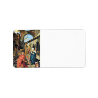 Albrecht Durer - Birth of Christ Personalized Address Labels