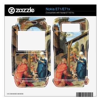 Albrecht Durer - Birth of Christ Nokia E71x Decal